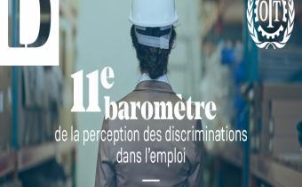 11e Baromètre sur la perception des discriminations dans l'emploi