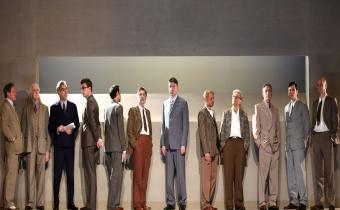 Douze hommes en colère, au théâtre Hébertot. Photo Lot.