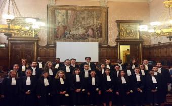 Prestation de serment du 30 000e avocat au barreau de Paris. 26 juin 2019. Photo Barreau de Paris.