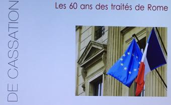 Colloque sur les 60 ans des traités de Rome