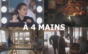 À 4 mains, documentaire de Sarah Carpentier sur l'apprentissage, sur France 5 le 15 octobre 2019 à 20h50.