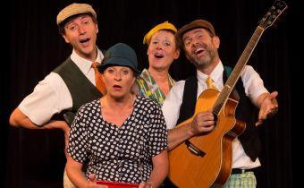 Barber Shop Quartet, au théâtre l'Archipel. Photo Charlotte Spill.