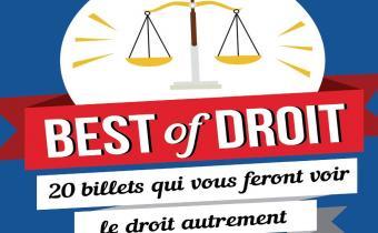 Best of droit, 20 billets qui vous feront voir le droit autrement
