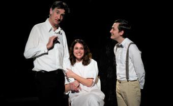 En attendant Bojangles, au théâtre la Pépinière. Photo Évelyne Desaux.