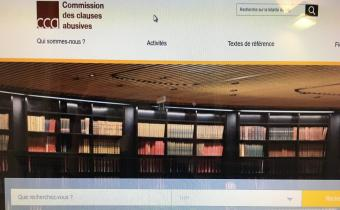 Site internet de la Commission des clauses abusives.