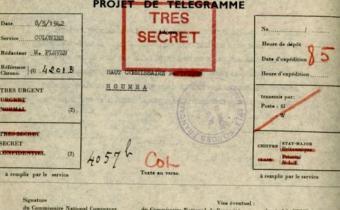 Projet de télégramme