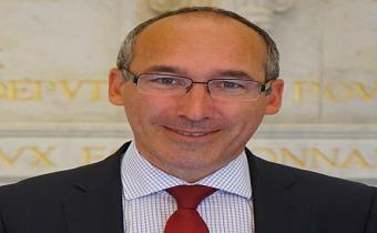 Paul Christophe, député de la 14e circonscription du Nord, juill. 2017. Photo G. Garitan.