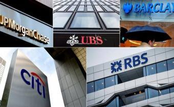 Banques sanctionnées pour ententes forex