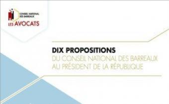 Les 10 propositions du CNB au président Macron