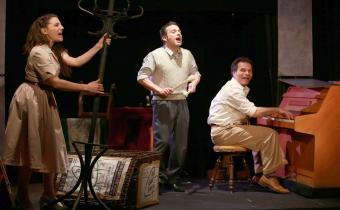 Comédiens !, au théâtre de la Huchette. Photo Lot.
