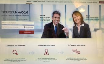 La plateforme avocat.fr du Conseil national des barreaux.