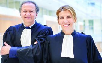 Olivier Cousi et Nathalie Roret. Photo Barreau de Paris.