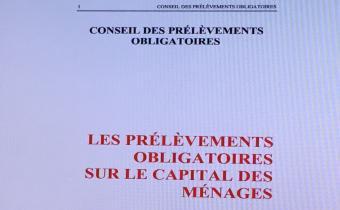 Rapport CPO sur les prélèvements obligatoires sur le capital des ménages