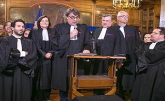 Proclamation des résultats du second tour scrutin des élections du barreau de Paris, 22 nov. 2017.