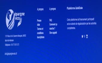 Epargne-eco.fr n'est ni une plateforme labellisée ni en attente de régularisation par les autorités compétentes. Source : AMF.