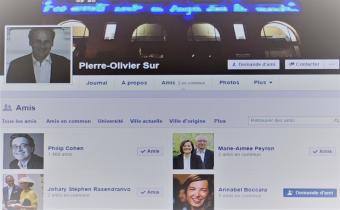 Page Facebook de l'ancien bâtonnier Pierre-Olivier Sur, 8 janv. 2017.