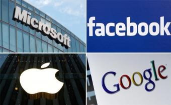 Google Facebook Microsoft Apple