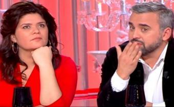 Raquel Garrido et Alexis Corbière. Capture d'écran.