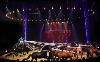Origines, cirque Alexis Gruss, sous chapiteau, Porte de Passy, Paris-16e.