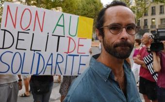 Cédric Herrou, sept. 2017.