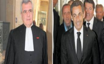 Thierry Herzog et Nicolas Sarkozy.