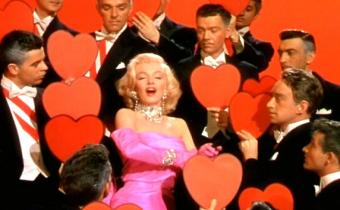 Les hommes préfèrent les blondes, de Howard Hawks, avec Marilyn Monroe et Jane Russell.