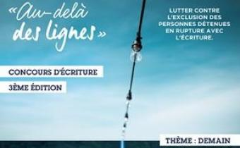 """3e concours d'écriture """"Au-delà des lignes"""""""