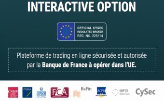 Interactive Option, un site de Pegase Capital.