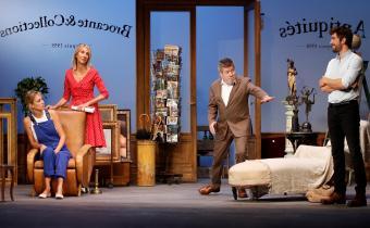 Le plus beau dans tout ça, au théâtre des Variétés. Photo Maxime Guerville.