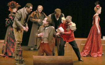 L'idiot, de Fiodor Dostoïevski, au théâtre 14. Photo Lot.