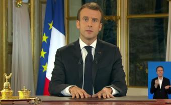 Emmanuel Macron, 10 déc. 2018. Capture d'écran.