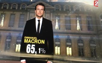 Emmanuel Macron, 8e président de la Ve République. Capture d'écran Jon Helland/LexTimes.