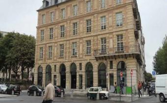Maison du barreau, place Dauphine à Paris.