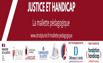 """Une mallette """"Justice et handicap"""" pour les professionnels du droit"""