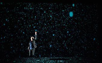 Petit éloge de la nuit, à la Scala Paris. Photo Pauline Maillet.