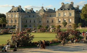 Palais du Luxembourg, siège du Sénat.