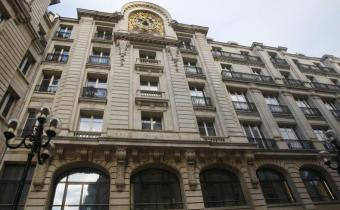 Parquet national financier, à Paris, 5 rue des Italiens.