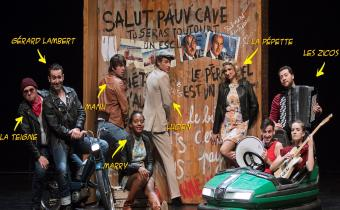 Le p'tit monde de Renaud, au théâtre du Palais-Royal. Photo Nathalie Robin.