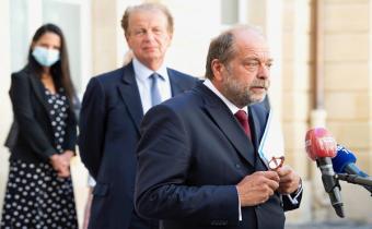 Remise du rapport Perben au garde des sceaux, 26 août 2020.
