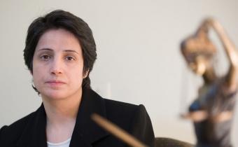 Nasrin Sotoudeh. Photo DR.
