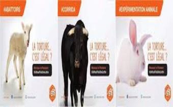 Campagne publicitaire de la Société protectrice des animaux (SPA), avril 2016.