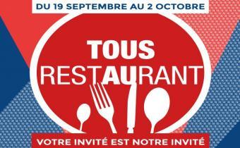 Tous au restaurant, 2 semaines pour découvrir les plus belles tables parisiennes et françaises.