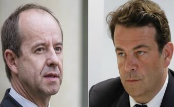 Jean-Jacques Urvoas (G) et Thierry Solère (D). Photomontage.