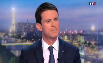 Manuel Valls, candidat à la primaire PS pour la présidentielle 2017. Capture d'écran.