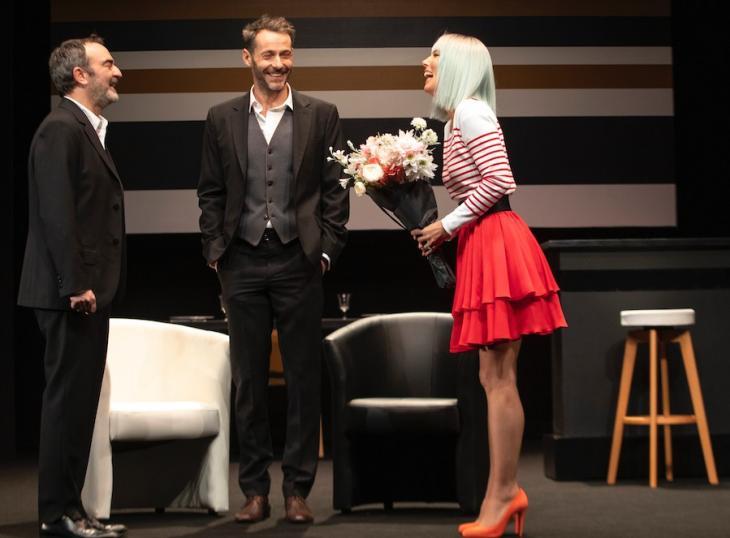 Dix ans après, au théâtre de Paris. Photo Céline Nieszawer.