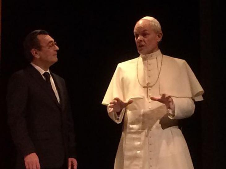 Jean-Paul II — Antoine Vitez, Rencontre à Castelgandolfo, au théâtre de La Bruyère.