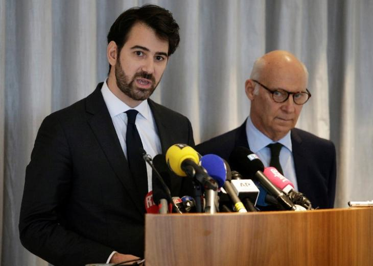 Antonin Lévy et Pierre Cornut-Gentille, conférence de presse, 9 févr. 2017.