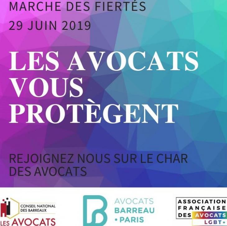 Le CNB et le barreau de Paris défileront à la Gay Pride ce samedi 29 juin 2019