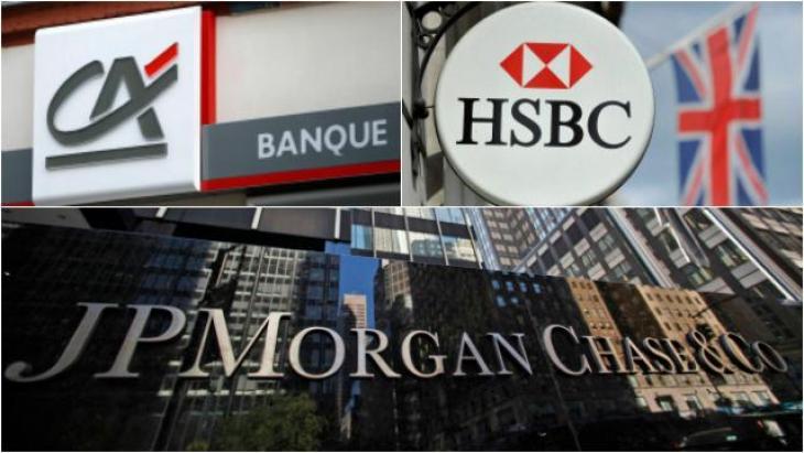 Manipulations Euribor par Crédit agricole, HSBC et JPMorgan Chase