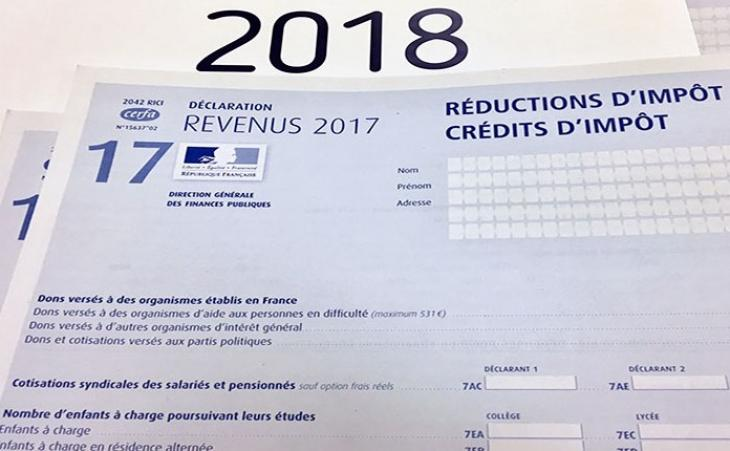 Prelevement A La Source Credits Et Reductions D Impot 2018
